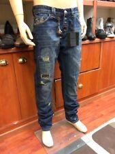 666590eac4b697 Philipp Plein Vulcano 8my Military Blue Jeans 36 In. 34l