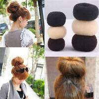 Women Magic Donut Hair Styling Buns Curler Tool Maker Ring Hairpin