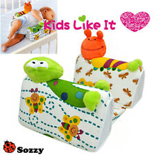 SOZZY BABY Infant Airflow SLEEP Positioner Anti Roll SAFETY Wedge Pillow