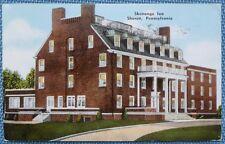 Postcard of Shenango Inn in Sharon, Pennsylvania