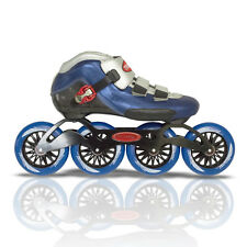 Inline Speed Skates by TruRev, 110mm skate wheels. size 9.5