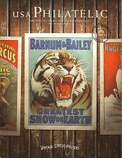 Barnum & Bailey Circus--Vintage Circus Posters--2014 USA Philatelic Magazine