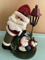 Santa Claus Snowman Home Decor Holidays Christmas