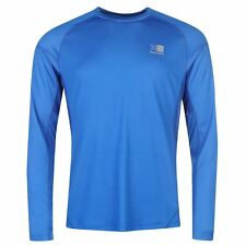 Karrimor Aspen Full Lenght Sleeve Mens Running Top Blue - 2Xl