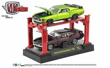 1:64 M2 Machines *AUTO-LIFTS 15* 1970 Ford Mustang Mach 1 350 SET *NIB*