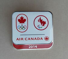 Air Canada Olympic 2014 Sponsor Lapel Souvenir Hat Pin
