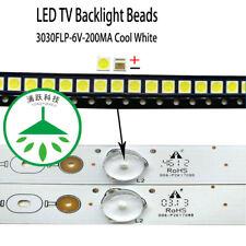 100pcs /lot 6V FOR LCD TV repair led TV backlight strip light-diode 3030 SMD LED
