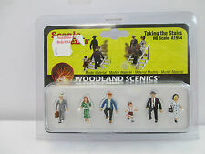 Woodland scenics h0 a1954 taking the stairs figures wt8371