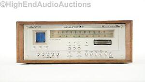 Marantz Model 2130 AM FM Radio Tuner - Oscilloscope - Gyro-Touch Tuning
