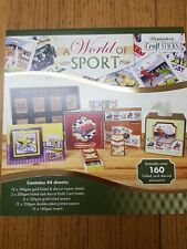 Hunkydory Craft Stack  - A world of sport - Stack004 - # part used