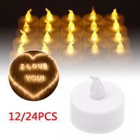 Electric Led Candle Flameless Tea Light Candle Wedding Party Home Decoration