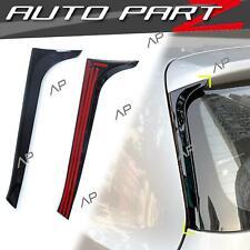 1Paar Schwarz Vertikale Heck Spoiler Flaps Flügel für VW GOLF 6 VI TSI TDI 08-13