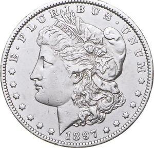 RARE - 1897-O Morgan Silver Dollar - Very TOUGH - High Redbook *259