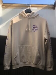 Anti Social Social Club Sand Purple Hoodie