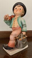 "Vintage 1984 Goebel M I Hummel 6 1/4"" Figurine Merry Wanderer TMK 6 w/Tag"