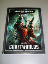 Warhammer 40K CRAFTWORLDS CODEX!! 8th Edition Brand New HC!!