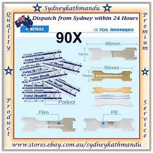 90 Large Nasal Strips Stop Snoring Help Breathe Right Better Anti Snore Strip
