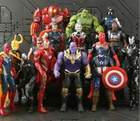 Marvel Avengers Infinity war Super Heroes 15cm Toys Action Figures Free Shipping