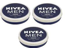 NIVEA MEN CREME Cream Face Body Hands 75ml Non Greasy & Sticky Absorbs Quickly
