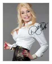 DOLLY PARTON SIGNED AUTOGRAPHED A4 PP PHOTO POSTER A