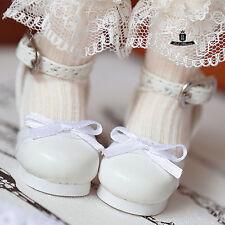 1/6 BJD Shoes Yosd Dollfie DREAM Lolita bow white Shoes AOD DIM DOD Luts SOOM DZ