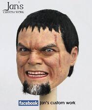 1/6 Hot CUSTOM REPAINT REHAIR toys Man of Steel Superman General Zod figure head