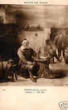 CPA 21 musée de DIJON   TENIERS (david) le jeune  tabagie