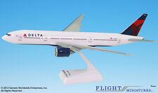 Flight Miniature's Delta Boeing 777-200LR Plastic Airplane Model Current Livery