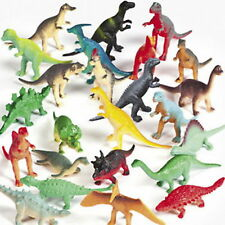72 VINYL DINOSAURS ASSORTMENT Perfect for Cupcakes,Cake Toppers Goodie Bags Gift