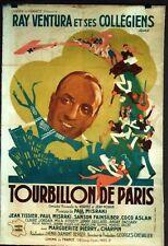 AFFICHE CINEMA : TOURBILLON DE PARIS