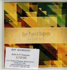 (CQ814) The Red Bullets, East of Easy - 2012 DJ CD