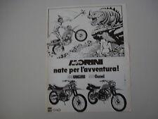 advertising Pubblicità 1983 MOTO MORINI 350 KANGURO / 500 CAMEL