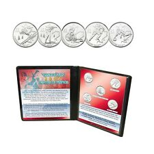 2007 Canadian Vancouver Winter Olympic Coin Collection Uncirculated Set