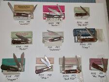 10 NIB Remmington Bullet Knives R4353/R1263/R1173L/R1303/R1613/R4243/R1128/R4356