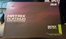 ASUS ROG Matrix GEFORCE GTX 980 Ti  **BOX ONLY**