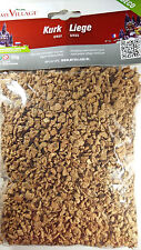My Village Cork Coarse Scatter 50g bag Model Railway Scenery Rocks Wagon Loads
