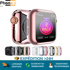 Etui Apple Watch Série 1/2/3/4/5/6 - 38/40/42/44mm Protection écran anti rayure