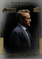 Marvel Avengers Endgame Exquisite Collection Black Achievement #3 Robert Downey