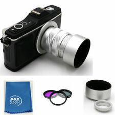 Fujian 35mm F/1.7 Überwachungskamera Cine Objektiv für M4/3 Mft Berg &adapter +