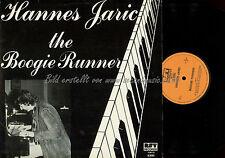 LP--HANNES JARIC THE BOOGIE RUNNER // KARL RATZER //