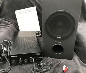 Videologic Sirocco Crossfire Subwoofer 3d Speaker System with Amp.