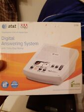 AT&T Digital Answering Machine System Model 1739 With Time & Day Stamp brand new