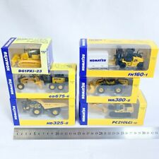 KOMATSU 1:87 scale Miniature car Official Diecast Model 6 set  [DHL/Fedex/JP ]