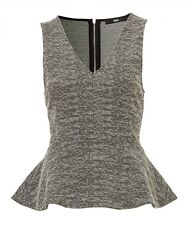 NEW sportsgirl textured top black & white also selling skirt sz XS 8 free post