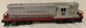 Lionel 2328 Burlington Route Silver GP-7 Diesel Locomotive No Box 1955