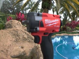 """Milwaukee 2854-20 M18 3/8"""" Drive Fuel Stubby Impact Wrench Bare Tool"""