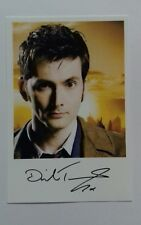 "DOCTOR WHO - Male Actor David Tennant 6""X4"" Autograph Reprint Colour Photo BBC"