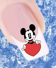 20 Nail Tattoos Micky Maus Herz  421 Sticker Nailart