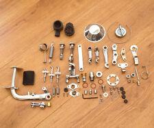 LAMBRETTA LI/ GP/TV/SX/ S1/S2 STAINLESS STEEL CHROME ENGINE BODY LINKAGE KIT.NEW