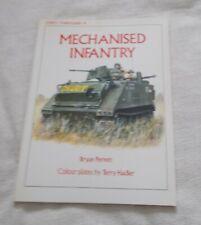 Osprey Vanguard - 38 - Mechanized Infantry - Bryan Perrett - p/b